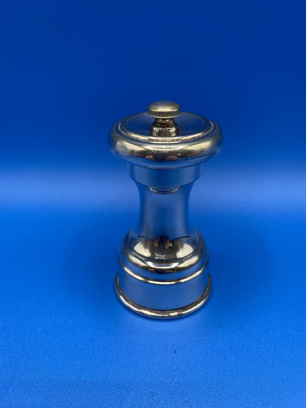 G3 - A Silver Plated Pepper Grinder with Peugeot mechanism.   £36