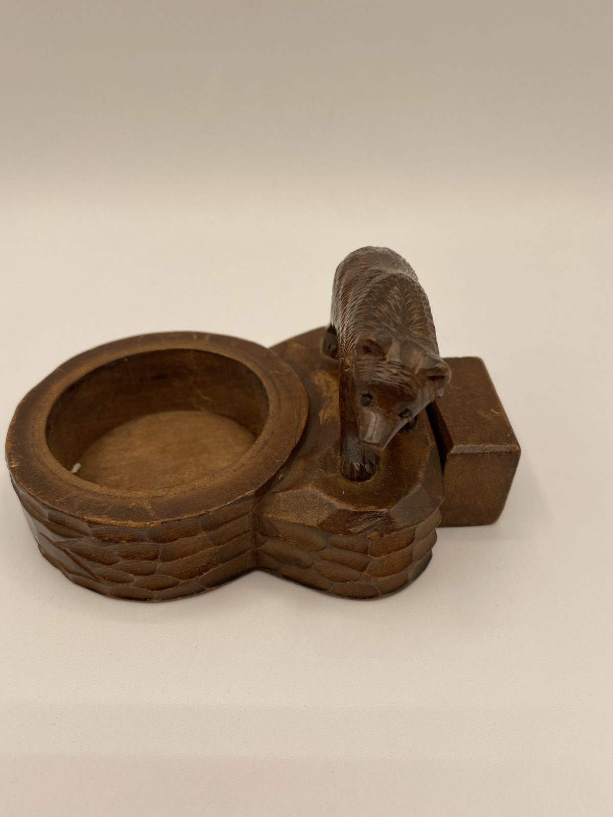 G7 - A Black Forest Bear ink stand.   £55