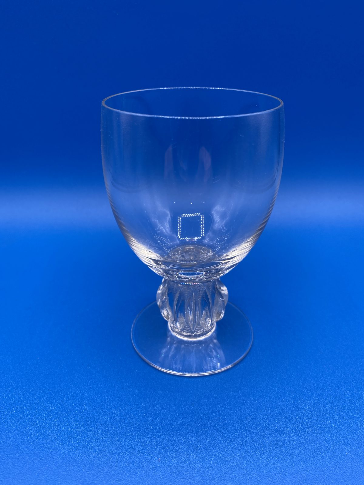 G1 - A Superb Set of 5 Rene Lalique Madeira Glasses in the Algers Pattern, c1940, all signed to base.  £495