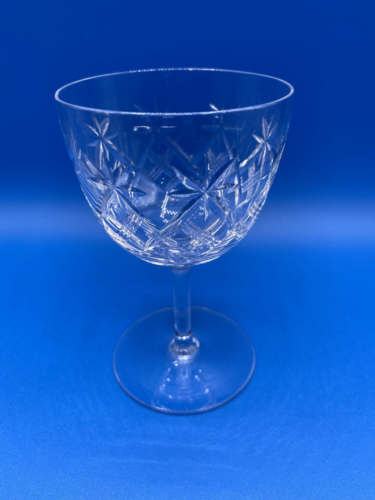 G1 - A Set of 6 Thomas Webb Wine Glasses from c1940.  £69